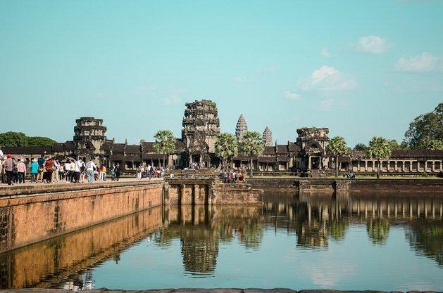 ทัวร์กัมพูชา ชมปราสาทนครวัด นครธม ปราสาทบายน เมืองเสียมราฐ 3วัน 2คืน บิน Thai Smile