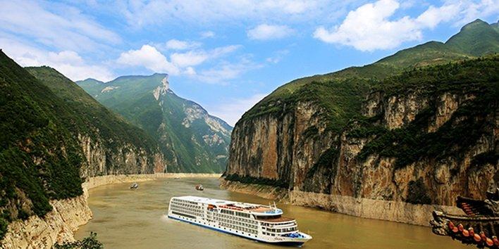 ทัวร์จีน ล่องเรือแม่น้ำแยงซีเกียง เจดีย์สือเป่าไจ้ เสินหนีซี อี๋ชาง 5วัน4คืน บินThai Airways