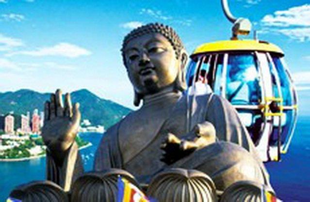 ทัวร์ฮ่องกง นมัสการสิ่งศักดิ์สิทธิ์ 9 วัดดัง เกาะลันเตา นั่งกระเช้า Ngong ping 3วัน 2คืน