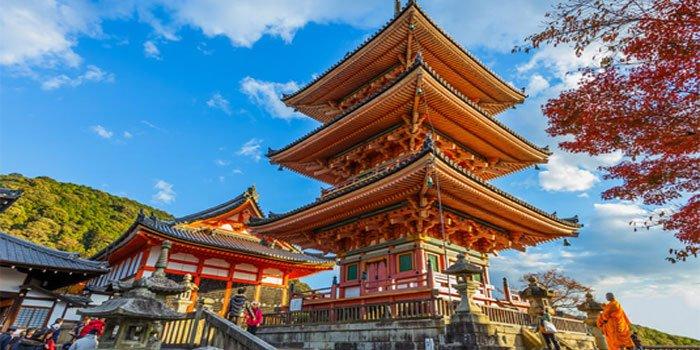 ทัวร์ญี่ปุ่น ชมมรดกโลกวัดน้ำใส ปราสาทโอซาก้า เกียวโต 3วัน 2คืน บิน Scoot Airlines