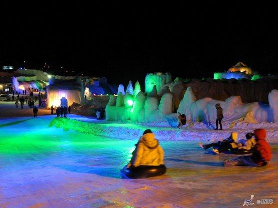 ทัวร์ญี่ปุ่น เทศกาลน้ำแข็งเมืองโซอุนเคียว หมู่บ้านราเมน สวนน้ำแร่ฟุกุดาชิ 6วัน4คืน บิน Thai Airways