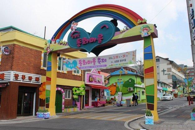 ทัวร์เกาหลี หมู่บ้านเทพนิยาย ปั่นRAIL BIKE เอเวอร์แลนด์ โซล 5วัน3คืน บิน Air Asia X