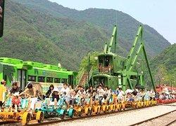 ทัวร์เกาหลี ปั่น RAIL BIKE ชมป้อมฮวาซอง ช้อปปิ้งเมียงดง 5วัน 3คืน บิน XJ