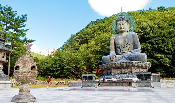 ทัวร์เกาหลี เที่ยวเกาะนามิ อุทยานซอรัคซาน พระราชวังเคียงบ็อคคุง 5วัน3คืน บิน Jin Air