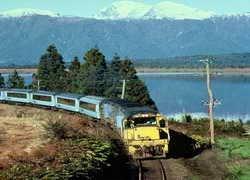 ทัวร์นิวซีแลนด์ นั่งรถไฟสายโรแมนติค ชมธารน้ำแข็ง FOX GLACIER 7 วัน 5 คืน บิน SQ