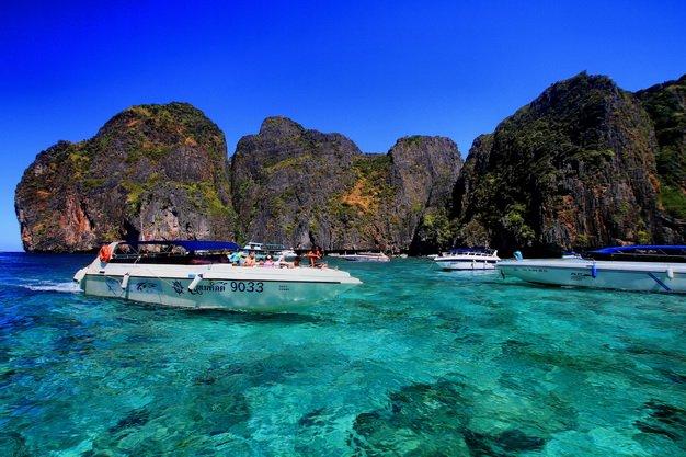 ทัวร์กระบี่ หมู่เกาะพีพี ทะเลแหวก ตรัง พักรีสอร์ท 4 วัน 2 คืน