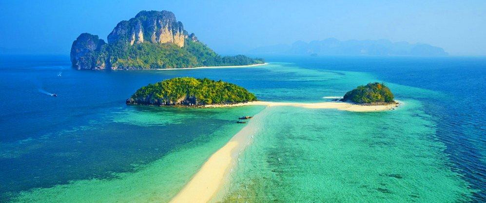 ทัวร์ตรัง เกาะกระดาน ถ้ำมรกต กระบี่ ทะเลแหวก หาดไร่เรย์ 4วัน 2คืน