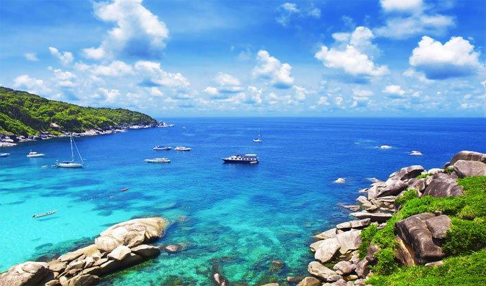 ทัวร์พังงาวันสงกรานต์ ดำน้ำดูปะการัง เกาะสิมิลัน เกาะตาชัย 5วัน 2คืน