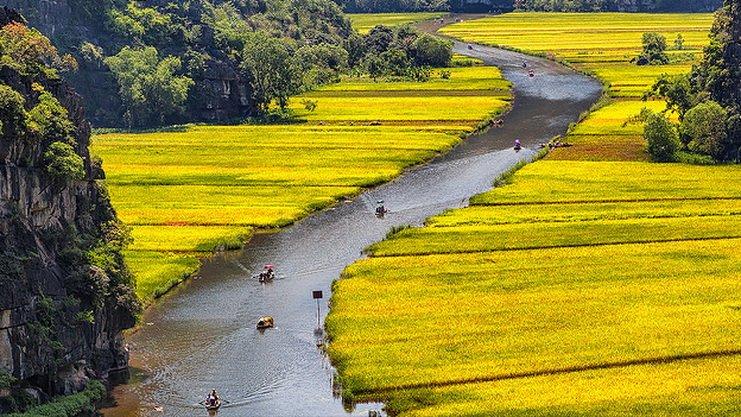 ทัวร์เวียดนาม ฮานอย นิงห์บินห์ ล่องเรืออ่าวฮาลองเบย์ 4 วัน 3 คืน บิน VJ