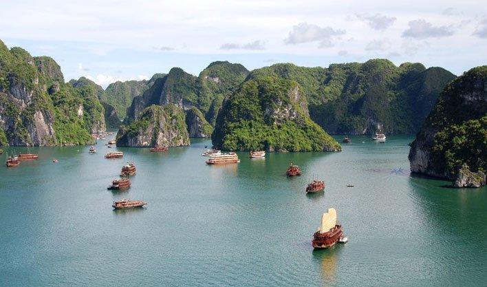 ทัวร์เวียดนาม ฮานอย ล่องเรือชมอ่าวฮาลอง 3วัน 2 คืน บินNOK Airlines