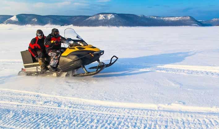 ทัวร์รัสเซีย มอสโคว์ ขับรถ Snow Mobile ตามล่าหาแสงเหนือ 7วัน 5คืน บิน Thai Airways