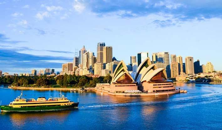 ทัวร์ออสเตรเลียวันสงกรานต์ หุบเขาสีน้ำเงิน ล่องเรือชมอ่าว ซิดนีย์ 5วัน3คืน บิน Qantas Airways