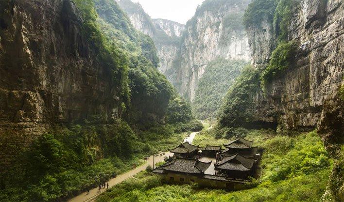 ทัวร์จีน เมืองฉงชิ่ง หมู่บ้านโบราณฉือชี่โข่ว เมืองอู่หลง 4วัน3คืน บิน THAI SMILE