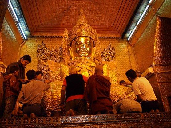 ทัวร์พม่า มัณฑะเลย์ ล่องแม่น้ำอิรวดี มิงกุน สักการะพระมหามัยมุนี 3วัน2คืน บิน Myanmar Airway