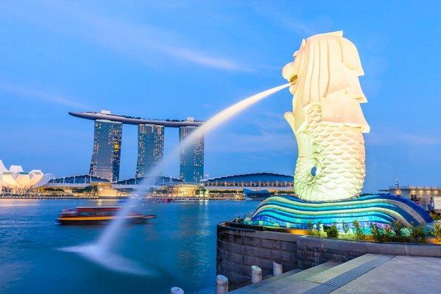 ทัวร์สิงคโปร์ ชมโชว์น้ำพุริมอ่าว Marina เลือกเที่ยวตาม Option 3วัน2คืน บิน Thai Lion Air